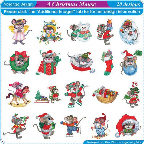 Christmas Mouse by Morango Designs - CD