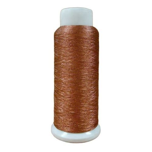 Softlight Metallic Golden Red 1500m Embroidery Thread