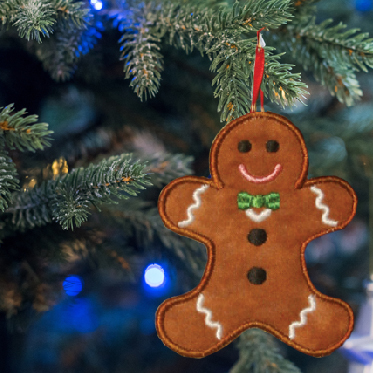 Gingerman ornament main image